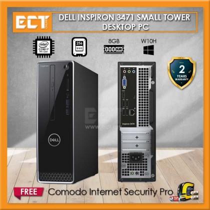 Dell Inspiron 3471 Small Tower Desktop PC (i7-9700 4.70Ghz,256GB SSD,8GB,W10)