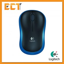 (OEM) Logitech M185 Wireless Mouse (Blue)