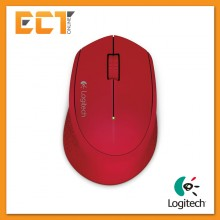 (OEM) Logitech M280 Wireless Mouse (Red)