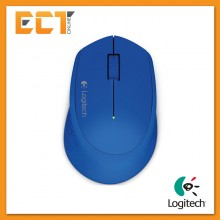 (OEM) Logitech M280 Wireless Mouse (Blue)
