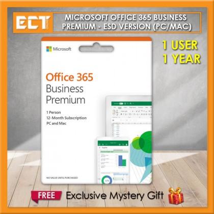 Genuine Microsoft Office 365 Business Premium (1 User PC/Mac) - ESD