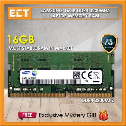 Samsung 16GB DDR4 PC4-3200AA 3200Mhz SODIMM Laptop Memory Ram