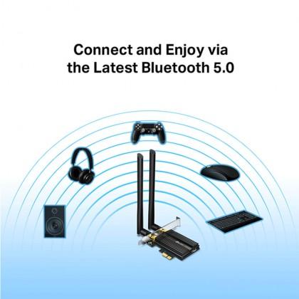 TP-Link Archer TX50E AX3000 Dual Band WiFi 6 Bluetooth 5.0 PCIe Adapter