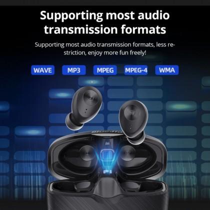 Bluedio Faith Fi  TWS Wireless Bluetooth Headset Waterproof Ear Sports Headphones