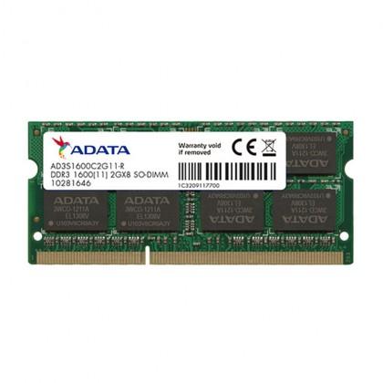 ADATA Premier 2GB DDR3 PC3-12800 1600MHz SODIMM Laptop Notebook Memory Ram