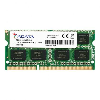 ADATA Premier DDR3L PC3L-12800 1600MHz Low Voltage SODIMM Laptop Notebook Memory Ram - 4GB / 8GB