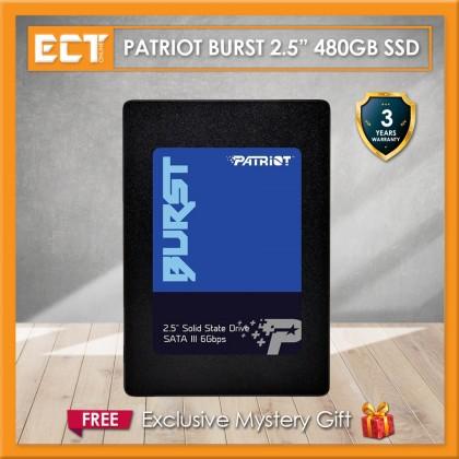 """Patriot Burst 2.5"""" 32MB DRAM Cache 120GB / 240GB/ 480GB / 960GB SATA III Solid State Drive (SSD)"""