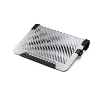 "Cooler Master NotePal U2 Plus Dual Movable 80mm Fan Aluminium 17"" Laptop Cooling Pad - Silver"
