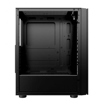 1STPLAYER Black Sir B7 ATX Tempered Glass Gaming Desktop PC Casing Chassis