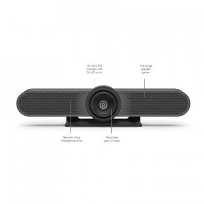 Logitech MeetUp CC4000E 4K Business Video Conference Camera Webcam