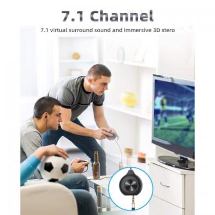 Bluedio LI PRO 7.1 Channel Surround Earphone Build In Mic Y Shape Headphone Headset