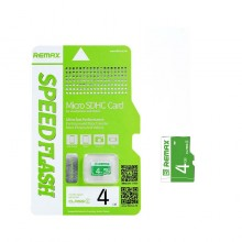 Remax 4GB Class 4 30MB/s Fast Performance Micro SDHC Memory Card