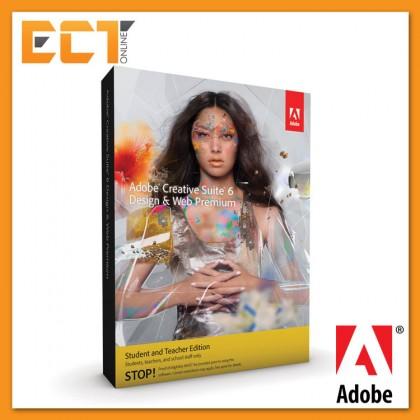 Adobe Creative Suite 6 (CS6) Design & Web Premium Full Package for MAC (Education Edition)