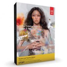 Adobe Creative Suite 6 (CS6) Design & Web Premium Full Package for Windows (Education Edition)