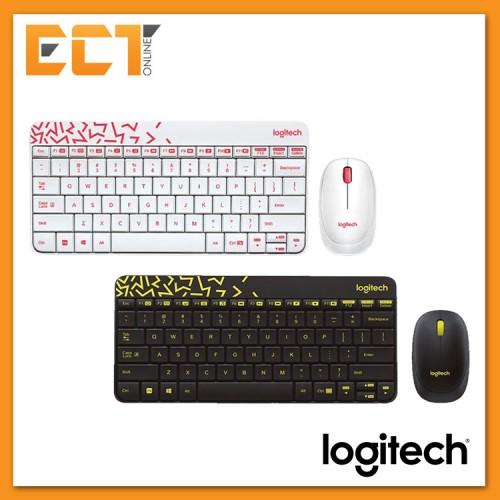 e7e239e1198 Logitech MK240 Nano Wireless Combo Keyboard and Mouse - White ...