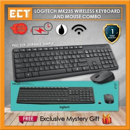 Logitech MK235 Wireless Keyboard and Mouse Combo