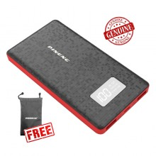 Genuine Pineng PN-960 6000mAH Powerbank (Black) + FREE Pineng Pouch