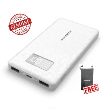 Genuine Pineng PN-960 6000mAH Powerbank (White) + FREE Pineng Pouch