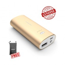 Genuine Pineng PN-926 5000mAH Powerbank (Gold) + FREE Pineng Pouch