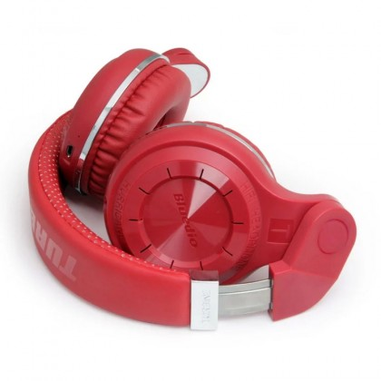 Bluedio T2 Foldable Style Bluetooth V4.1 Headset Wireless Over-Ear Headset (Red)