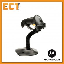 Genuine Motorola Symbol LS2208 Barcode Scanner with Auto Scan + Stand (Black)