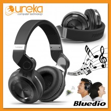Genuine Bluedio T2+ Stereo Wireless Bluetooth 4.1 with Micro SD Slot