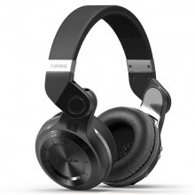Genuine Bluedio T2+ Stereo Wireless Bluetooth 4.1 with Micro SD Slot (Black)