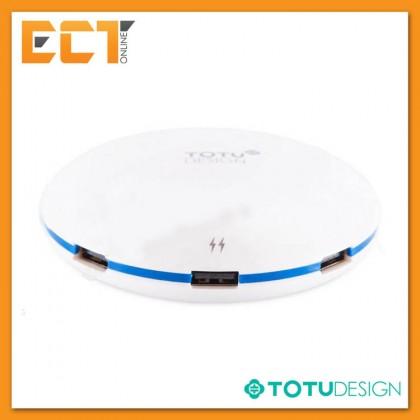 Totu Design Series Plate Version USB Hub with 5 USB ports + 5A Output