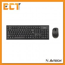 A4Tech 7100N V-Track Wireless Keyboard and Mouse Combo (Black)