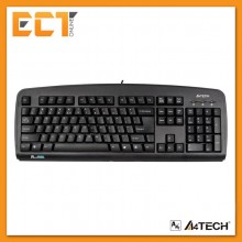 A4Tech KBS-720 Basic Wired USB Keyboard (Black)