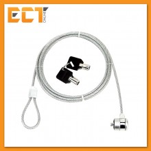 1.8M Computer Notebook Security Key Cable Chain Lock (Silver)