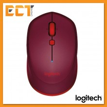 Logitech Bluetooth Wireless Mouse M337 (Red)