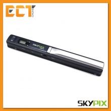 SkyPix TSN470 Portable Handheld Cordless A4 Photo Scanner High Resolution 1050DPI with LCD (Black)