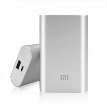 Genuine Xiaomi 10000mAh Mi Power Bank (Silver)