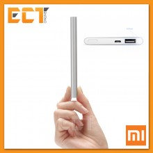 Genuine Xiaomi 5000mAh Mi Power Bank with 2.1A Rapid Charge Technology (Silver)