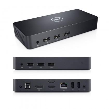 Dell D3100 USB 3.0 Docking Station (Support 4K Display)