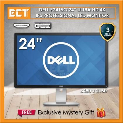 "Dell P2415Q 24"" Ultra HD 4K IPS Professional LED Monitor (3840 x 2160)"