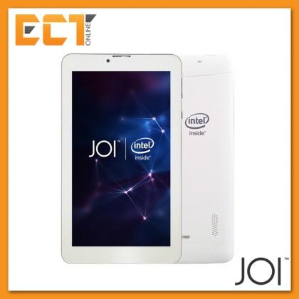 Intel Inside JOI 7 Lite 8GB Dual Sim + Universal Booklet Case + Screen Protector (Pearl White)