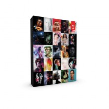Genuine Adobe Creative Suite 6 (CS6) Master Collection (Commercial Retail Pack with Disc) - Mac