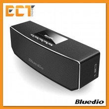 Bluedio CS-4 Wireless Bluetooth 4.1 Speakers Call with Metal Frame 3D Sound Box Speaker - Black