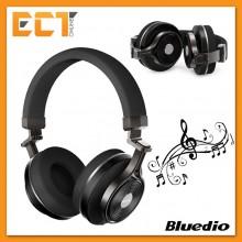 Bluedio T3+ Turbine Wireless Bluetooth HIFI Stereo Headphone/Headset (Black)