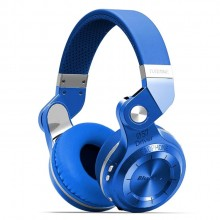 Bluedio T2 Foldable Style Bluetooth V4.1 Headset Wireless Over-Ear Headset (Blue)