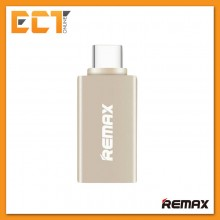 Genuine REMAX OTG TYPE-C To USB 3.0 Adapter RA-OTG1 (For Android) - Gold