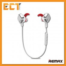 Genuine Remax RB-S2 Magnet Sports Wireless Bluetooth 4.1 Stereo Headset - White