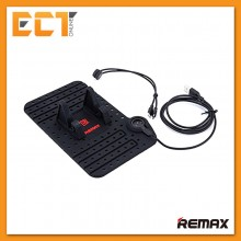 Genuine Remax Super Flexible Dashboard Car Holder with Magnet 2 in 1 Cable Charging Output