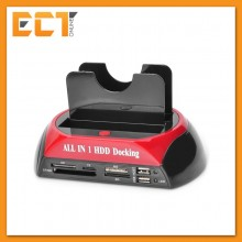 "Multi-Function 2.5""/3.5"" IDE & Sata All in 1 High Speed Hard Disk Drive Docking Station (RSH-575)"