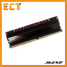 Avexir 8GB DDR4 2400MHz Desktop PC Gaming RAM with Red LED (PC4-19200) AVD4UZ124001608G-1COR
