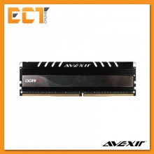 Avexir 8GB DDR4 2400MHz Desktop PC Gaming RAM with White LED (PC4-19200) AVD4UZ124001608G-1COW