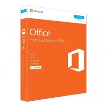 Genuine Microsoft Office 2016 Home and Business Retail Package with DVD (Outlook/Word/Excel/PowerPoint/OneNote)