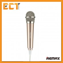 Remax RMK-K01 Singsong K Mini Microphone For Apple and Android Device (Gold)